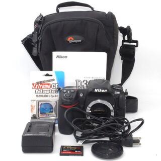 ニコン(Nikon)のCFカード付き♪高級感を兼ね備えた名機♪Nikon D300 ボディ(デジタル一眼)