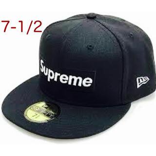 Supreme - Supreme new era Box logo キャップ 7-1/2