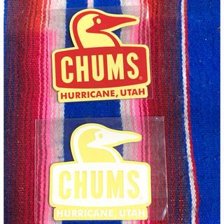 チャムス(CHUMS)の新品 CHUMS Sticker 2枚セット チャムス ステッカー x(その他)