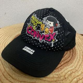 コンベックス(CONVEX)のCONVEX キッズキャップ(52〜56cm)(帽子)