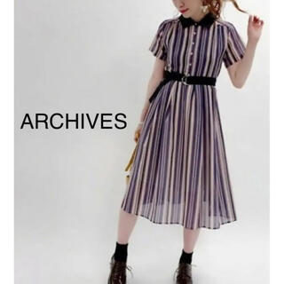 archives - archives ストライプ ワンピース