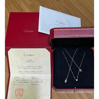Cartier - 美品 Cartier ディアマン ネックレス XS