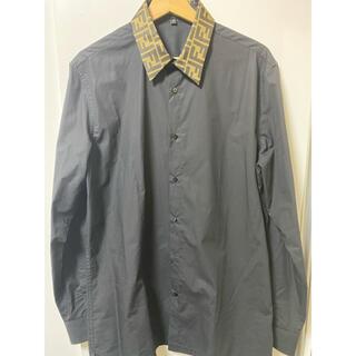 フェンディ(FENDI)のFENDI ドレスシャツ 三浦翔平着用 確実正規品(シャツ)