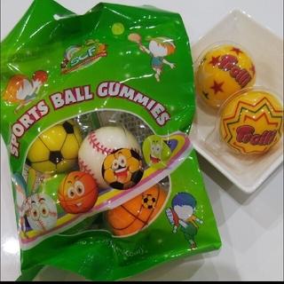スポーツボールグミ4個 宇宙グミ2個(菓子/デザート)
