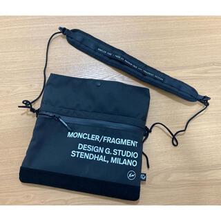 MONCLER - 美中古 moncler fragment サコッシュ モンクレール フラグメント