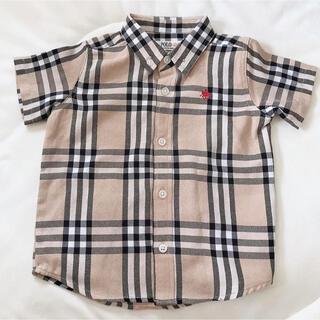 シマムラ(しまむら)のしまむら POLO チェックシャツ(その他)