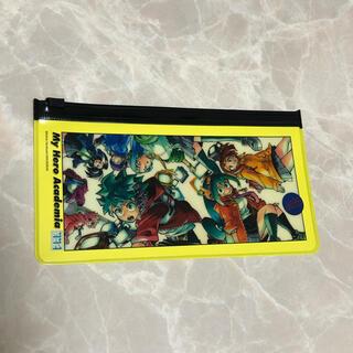 僕のヒーローアカデミア展 フルカラーポーチコレクション 集合 黄色