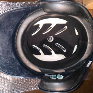ミズノ(MIZUNO)の野球 ソフトボール ヘルメット 8個 中古 黒 ブラック 青 ブルー 打者 (防具)
