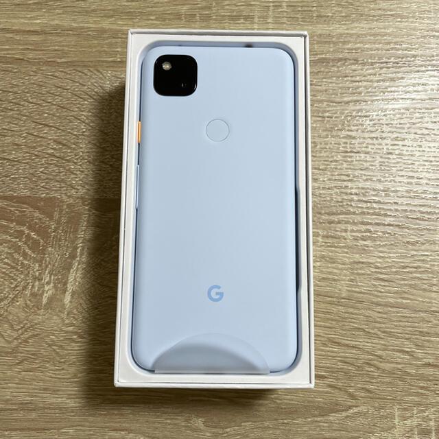 Google Pixel(グーグルピクセル)のGoogle Pixel4a スマホ/家電/カメラのスマートフォン/携帯電話(スマートフォン本体)の商品写真
