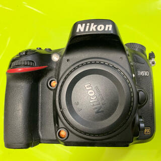 ニコン(Nikon)のNikon D610 本体 ジャンク (デジタル一眼)