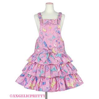 アンジェリックプリティー(Angelic Pretty)のAngelic Pretty Jelly Candy Toysサロペット(サロペット/オーバーオール)