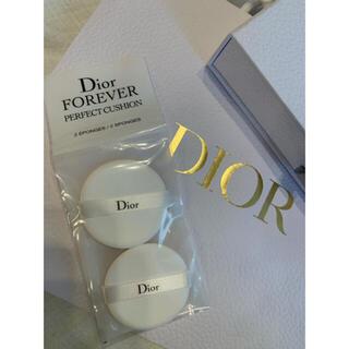 ディオール(Dior)の新品未開封 Dior Forever パーフェクトクッション 2個(パフ・スポンジ)