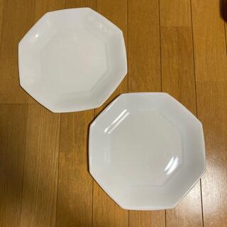 ヤマザキセイパン(山崎製パン)の山崎 ヤマザキ 白 皿 2枚セット(食器)