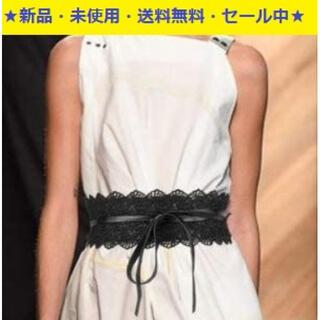 即購入歓迎商品♬新品♬今注目の♬サッシュベルト・レース&レザースタイル(^^♪(ベルト)
