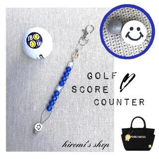 デサント(DESCENTE)のゴルフ スコアカウンター ニコちゃん スカート パンツ スタンドキャディバッグ(ウエア)