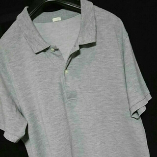 ジーユー(GU)の美品 XL GU ポロシャツ 半袖 大きいサイズ(ポロシャツ)