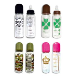 SALE 送料込新品未使用 北欧デザイン 哺乳瓶 4種類(哺乳ビン)