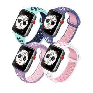 Apple Watch バンド 38/40mmシリコンアップルウオッチバンド(ラバーベルト)