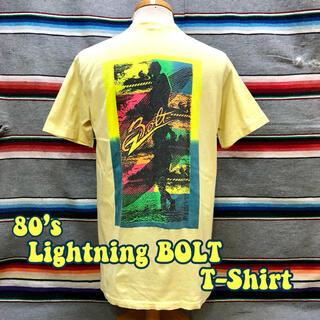 ライトニングボルト(Lightning Bolt)の80's Lightning BOLT Tシャツ(Tシャツ/カットソー(半袖/袖なし))
