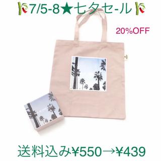 3COINS - 3COINS × AWA♡コラボトートバッグ(ORI)