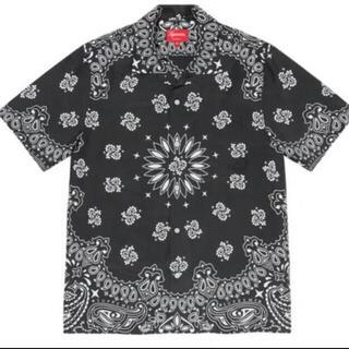 Supreme - supreme bandana silk 黒 Mサイズ シュプリーム