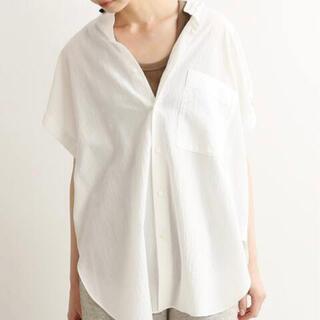 IENA - 【IENA】コットンテンセルルーズシャツ フリーサイズ
