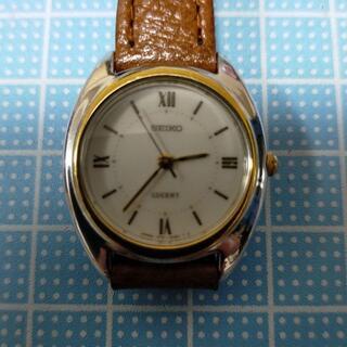 グランドセイコー(Grand Seiko)のSEIKO LUCENT 不動品 比較的美品 WATER RESISTANT(腕時計)
