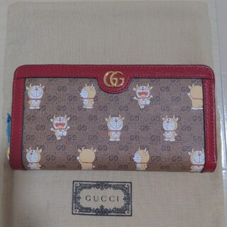 グッチ(Gucci)の未使用 GUCCI 牛ドラえもん コラボ 長財布(財布)