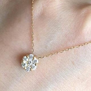 Tiffany & Co. - 0.3カラットダイヤモンド K18ネックレス