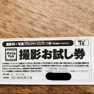 スタジオマリオ 撮影お試し券(その他)