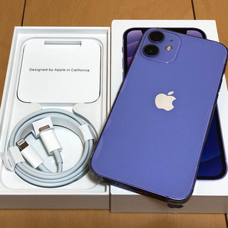 iPhone - 【美品】iPhone12mini / 128GB / パープル / SIMフリー