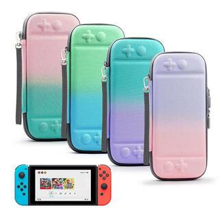 ニンテンドースイッチ(Nintendo Switch)の任天堂Switch スイッチポーチカバー グラデーションケース(その他)