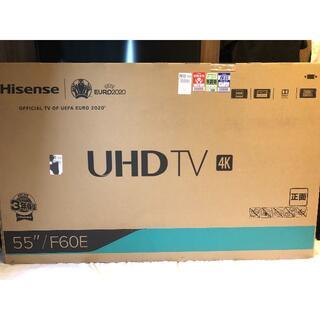 テレビ ハイセンス 55v型  4k対応 美品