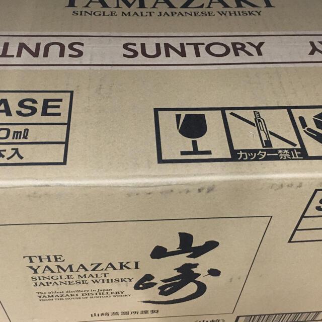 サントリー(サントリー)の山崎NV 1ケース(700ml×12本) 食品/飲料/酒の酒(ウイスキー)の商品写真