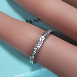 Tiffany & Co. - ティファニーチャネルセッティングハーフダイヤリング