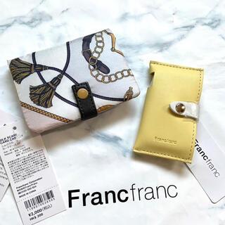 Francfranc - 新品 Francfranc シルクスカーフ カードケース 名刺入れ ミントケース