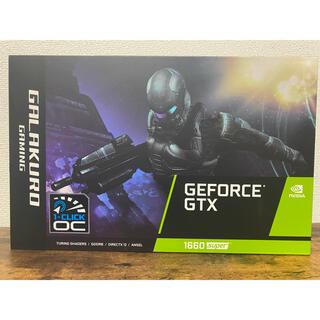 玄人志向 GeForce GTX1660super 6gb 新品未開封
