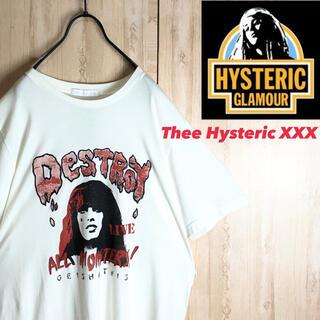ヒステリックグラマー(HYSTERIC GLAMOUR)のhystericglamour ヒステリックグラマー Tシャツ ガールズロゴ新品(Tシャツ/カットソー(半袖/袖なし))
