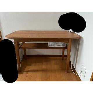 unico - unico カフェテーブル 100×50×60.5cm