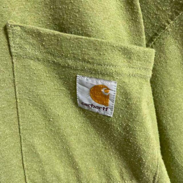 carhartt(カーハート)の【超人気カラー】カーハート☆ロゴタグ ポケット 半袖Tシャツ 即完売モデル メンズのトップス(Tシャツ/カットソー(半袖/袖なし))の商品写真