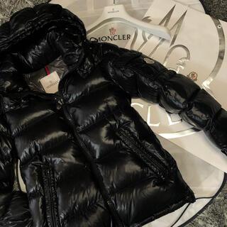 モンクレール(MONCLER)のモンクレール 正規品 MAYA サイズ00 ブラック DISTタグ(ダウンジャケット)