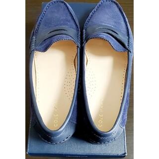 コールハーン(Cole Haan)の夏休み限定セール‼️美品!コールハーン、ローファーネイビーカラーsize7(ローファー/革靴)