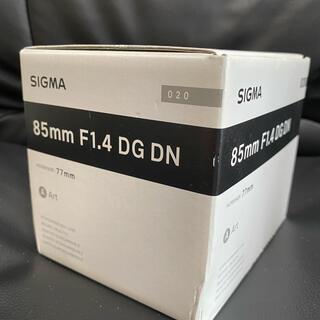 SIGMA - SIGMA 85mm F1.4 DG DN  Art  SONY Eマウント