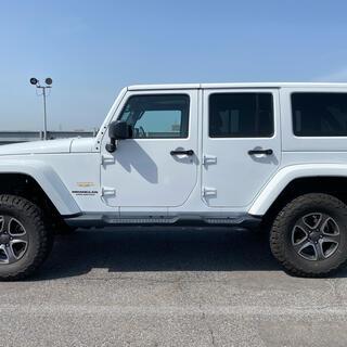 Jeep - jeep ジープ ラングラー アンリミテッド サハラ レザー 程度良好 低走行