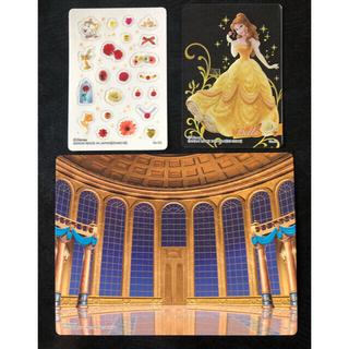 ディズニー(Disney)の【美女と野獣 ベル】コレクションカード ドレスアップストーリー(その他)