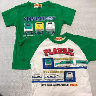 タカラトミー(Takara Tomy)のプラレールTシャツセット(Tシャツ/カットソー)