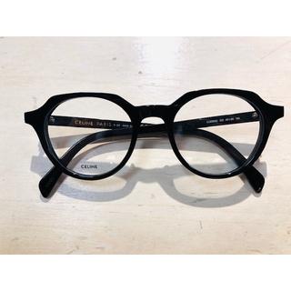 CELINE ラウンド眼鏡ブラック CL50062I