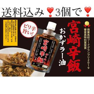 ご飯のお供に❣️宮崎辛飯 120g 3個【送料込み‼️】(その他)
