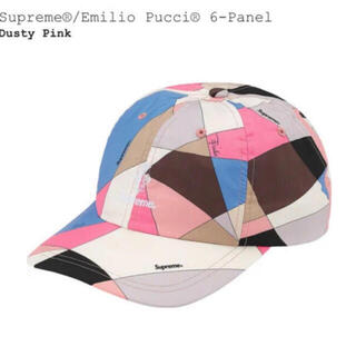 Supreme - Supreme Emilio Pucci 6-Panel pink