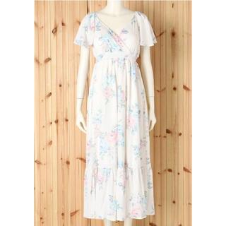 gelato pique - ジェラートピケ フラワーカップインドレス ワンピース ドレス